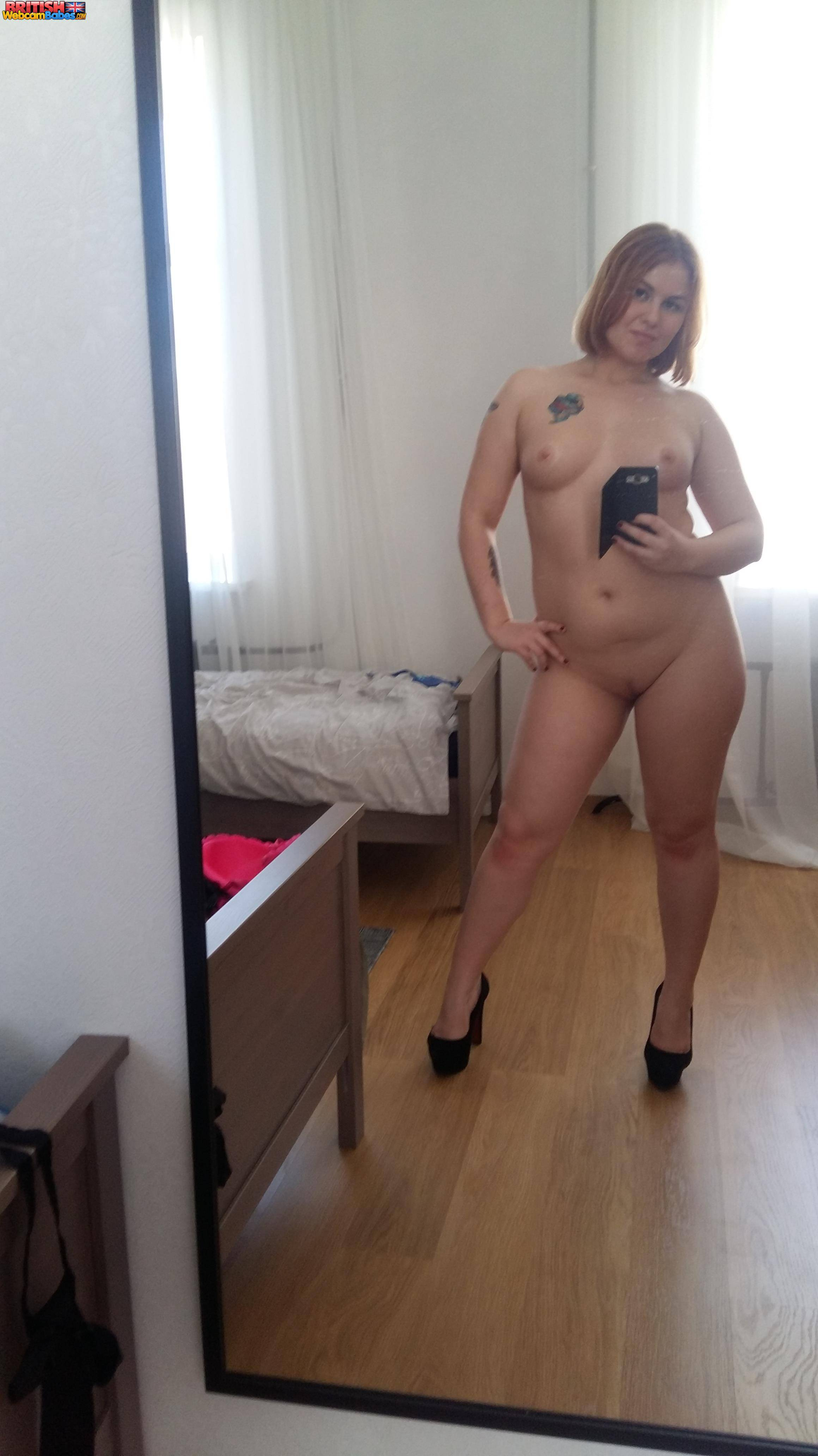 woman naked and penis